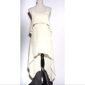 BCBGeneration Hi-Low Yellow Dress XS BCBG